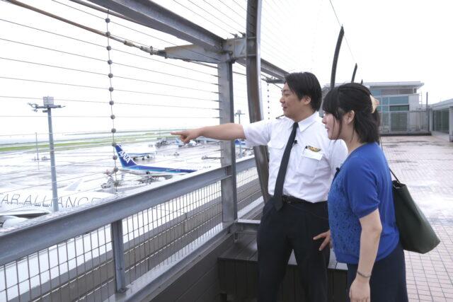 羽田空港で獨協人取材