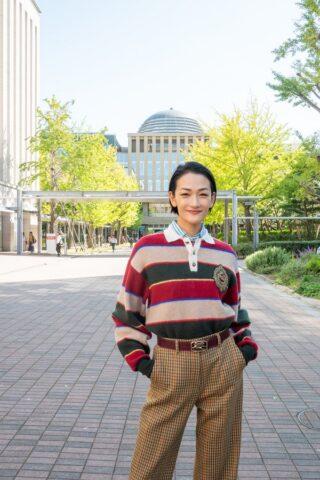 冨永愛さん(ジョイセフアンバサダー)が経済学部総合講座に登壇!